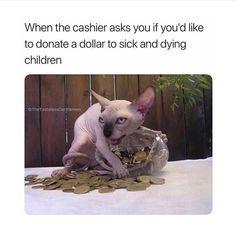 I mean likeeeee sometimes I donate.... @slaymie