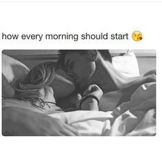Morning Kisses with Y♥U. Good Morning Couple, Good Morning Romantic, Good Morning Kisses, Good Morning Kiss Images, Cute Love Quotes, Love Quotes With Images, Romantic Love Quotes, Romantic Couples In Bed, Romantic Couple Kissing