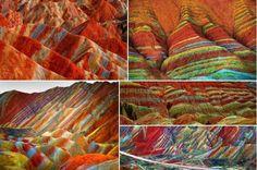 Parque Geológico, Zhangye Danxia, Gansu, China