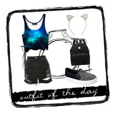 """Untitled #11"" by maximer69 on Polyvore featuring Topshop, Full Tilt, Skechers and Tim Holtz"