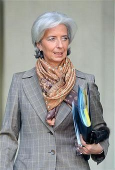 Professional Chic with Stoles – Christine Lagarde | Image Consulting Business Institute