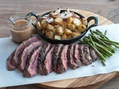 Bbq Steak, Xmas Dinner, Meat Recipes, Love Food, Barbecue, Food To Make, Grilling, Food And Drink, Sweets