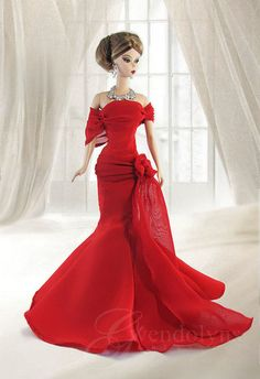 Red Gown wm | by Gwendolyns Treasures