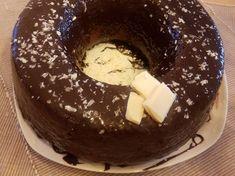 Νηστίσιμο κέικ σοκολάτας Pudding, Breakfast, Desserts, Geo, Kuchen, Morning Coffee, Deserts, Custard Pudding, Puddings
