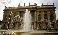@Palazzo Madama e le fontane di Piazza Castello #Torino