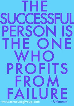 The successful person
