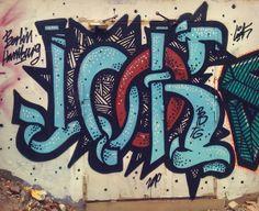 Colour in forgotten places  Graffiti, Illustration, Street Art