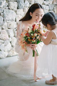 Nature Inspired Summer Wedding in Thailand