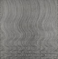 Bridget Riley  Fall 1963  'I try to organise a field of visual energy which accumulates until it reaches maximum tension'