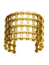 Jennifer Fisher grate cuff - in brass