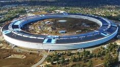 Apple's 'spaceship' campus looks like a futuristic solar-powered fortress in new drone video Read more Technology News Here --> http://digitaltechnologynews.com  A number of drone videos have captured the construction of the new UFO-style Apple Campus 2 but this latest video is the best look we've had yet.   The new video captured by YouTube user Sexton Videography shows the Apple structures in their nearly completed form with most of the walls and solar panels now in place.   From the main…