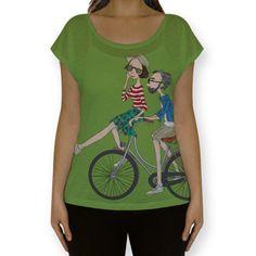 Camiseta Passeio no Parque - Cecília Murgel Drawings