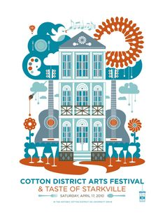 Starkville: Mississippi's College Town: National Travel & Tourism Week: Cotton District Arts Festival Continues to See Growth