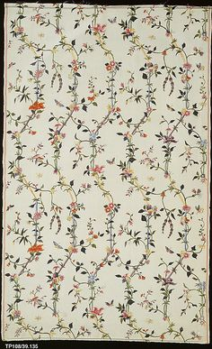 Piece; Chinese for export, silk, late 18th century
