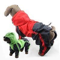 Manteau Coupe-vent étanche imperméable chien XL VERT