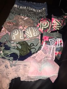 Pin by brooke fink on pink in 2019 Victoria Secret Rosa, Victoria Secrets, Victoria Secret Underwear, Victoria Secret Outfits, Cute Bras, Cute Lingerie, Instagram Baddie, Vs Pink, Pink Outfits