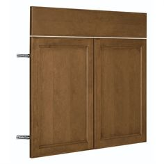 Nimble 17.875-in W x 23.9062-in H x 0.75-in D Finished Mocha Door and Drawer Base Cabinet