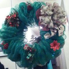 Large green wreath