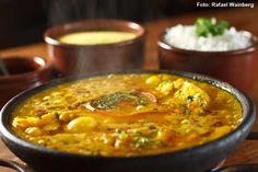 Siri Mole - Moqueca de peixe, arroz e farofinha de dendê (almoço)