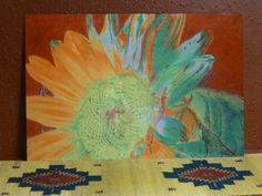 """Sunjoy"" metal print, 20 x 30 inches. Cris Fulton, Bowman, North Dakota."