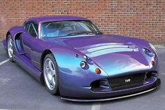 TVR Cerbera Speed 12 with Chameleon Paint This would be my shopping car. If I was rich.