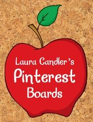 Laura Candler's main Pinterest page with over 40 educational boards - mostly free resources! Repin this to one of your own boards, and it will be easy to find Laura's teaching resources!
