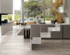 petrified white 45x90 by emil italy and by polisinthesi
