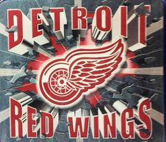 Detroit Red Wings NHL Hockey Mouse Pad