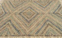Turkish Kilim rug, 9 x 6,4 feet / Cicim - Sophie's Bazaar