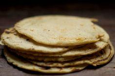 make homemade corn tortillas