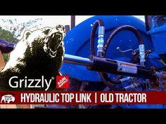 UNLOCK YOUR TRACTORS POTENTIAL   Hydraulic Top Link 3 Point Hitch - YouTube Tractor Accessories, Tractors, Outdoor Power Equipment, Link, Youtube, Top, Garden Tools, Youtubers, Crop Shirt