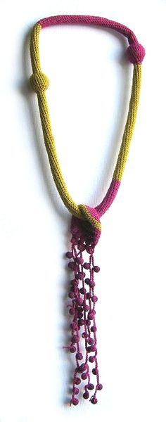 Wonderful crochet jewellery by TERESA DEGLERI