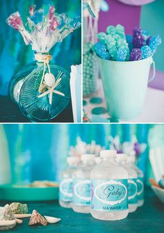 under the sea. Could easy do the vase & starfish but what are the chances of finding fishy type lollipops?