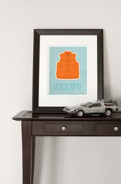 BTTF McFly vest print. Awesome bit of pop culture