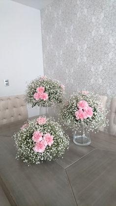 Bridal Shower Decorations Centerpieces - New ideas Bridal Shower Centerpieces, Wedding Table Centerpieces, Flower Centerpieces, Flower Decorations, Wedding Decorations, Floral Wedding, Diy Wedding, Wedding Bouquets, Wedding Flowers