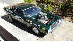 70 Dodge Challenger Drag Car