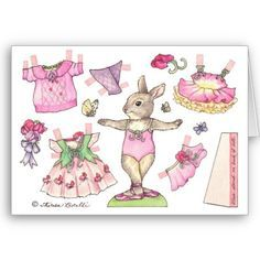 bunny paper dolls - Google Search