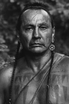 THE LAST OF THE MOHICANS (1992) - Russell Means as 'Chingachgook' - Based on novel by James Fenimore Cooper - Directed by Michael Mann - 20th Century-Fox - Publicity Still.