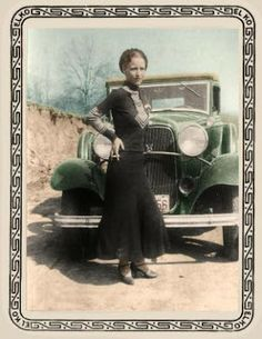 Bonnie and Clyde (Bonnie Parker) any other criminal females in history i can research?