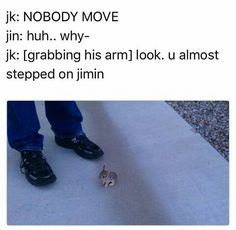 haha, why can i imagine jungkook doing something like this?