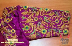 South Indian Blouse Designs, Black Blouse Designs, Best Blouse Designs, Wedding Saree Blouse Designs, Pattu Saree Blouse Designs, Zardosi Work, Kutch Work, Half Saree Lehenga, Sarees