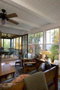 Kalmia cottage.Thomas Lawton Architect, Black Mountain, NC. The Frontier Group photo.