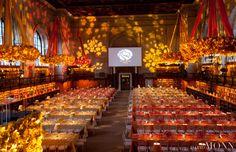 David Monn    Autumn, Orange and Yellow dinner party