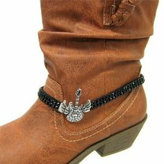 Sterling Silver Girls .8mm Box Chain 3D Cowboy Boot Spurs Pendant Necklace