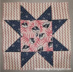 Barbara Brackman  is commemorating the sesquicentennial of the American Civil War with a block-of-the-week along with history of the con...