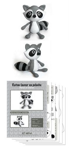 Raton laveur 0//à 6/mois Pop-In Bavoir Etape 1