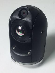SPI M2-D Mini Gyro Stabilized EO/IR UAV UAS Multicopter Drone FLIR Thermal Imaging Camera 384x288