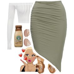 got me catching feelings ova here by zaya775 on Polyvore featuring polyvore, mode, style, Aéropostale, H&M, fashion and clothing