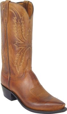 f12bfab5ab0 georgetowncowboyboots - Lucchese Heritage Mens Tan Mad Dog Goat Cowboy  Boots N1547