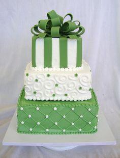 striped wedding cake - Google Search